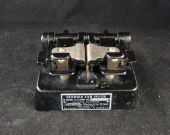 Vintage Griswold Film Splicer