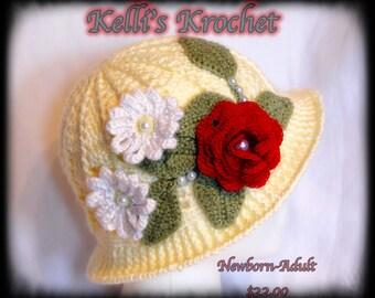 Summer Cloche Hat