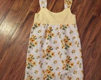 Vintage Pillowcase Dress size 6