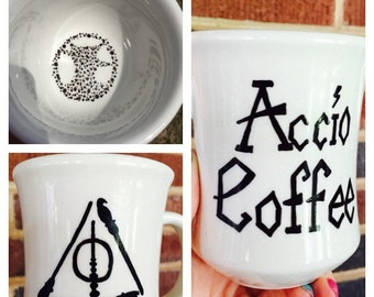 accio mug - hand painted