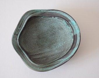 Kähler HAK Denmark - big amorph bowl - Nils Kähler - Danish mid century pottery
