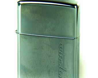 Vintage Zippo Windproof Cigarette Lighter with Winston Cigarette Logo - Still Sealed - Never Used