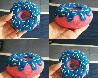 Multi purpose Donut (rice filled) heating pad/pin cushion/stress toy