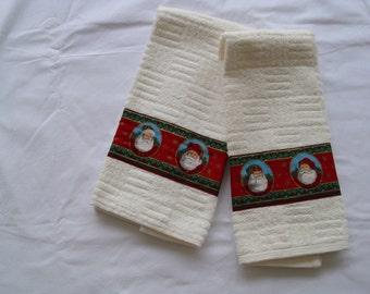 Santa Hand Towels