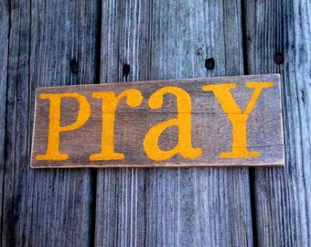 Pray - Golden Yellow