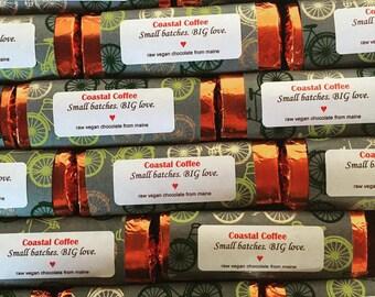Coastal Coffee Raw Chocolate Bar