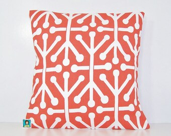 Outdoor Pillow - Orange PILLOW - Lumbar - Various Sizes - Orange Pillow Cover - Accent Pillow - 20x20,18x18,22x22