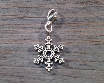 Jot Charm - Snowflake (silver)