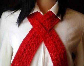 Aids Awareness Scarf