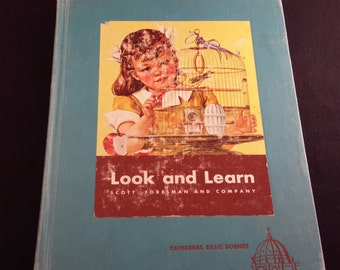 Look and Learn Reader 1949 Childrens Book