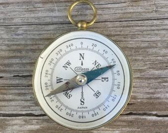 Vintage Compass brass pocket watch style E97
