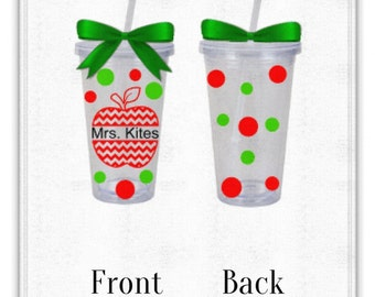 Personalized Teacher Cup, Great Gift!