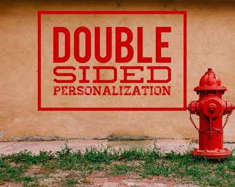 Double Sided Personalization