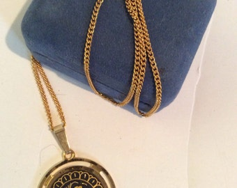 Gold toned necklace 20 in