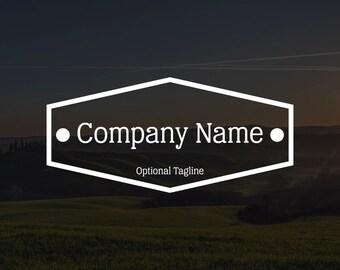 Premade Vintage Logo #6, Watermark, Business Logo