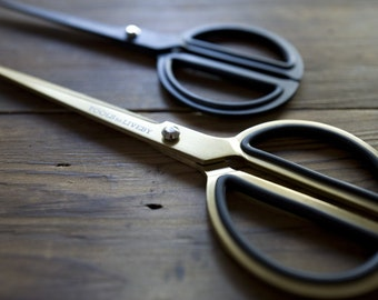 "Gold or Black Scissors 8"" - Tools To Liveby"
