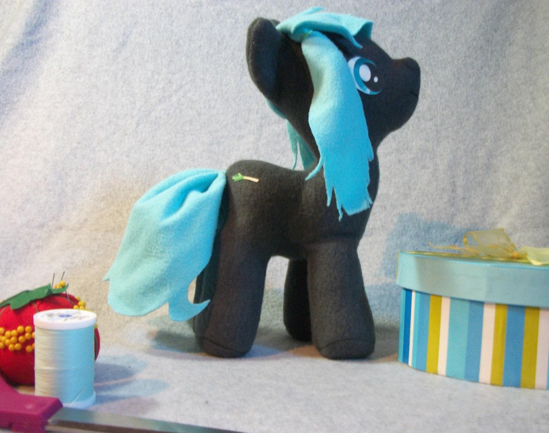 Hatsune Miku Themed My Little Pony Custom Plush Toy 85-5486