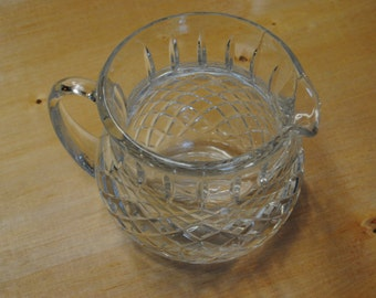 Really Sweet Little Crystal Vase/Pitcher