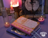 MADE TO ORDER Fairytale Book of Shadows Fantasy Spellbook Journal Diary Handmade Hardcover Book