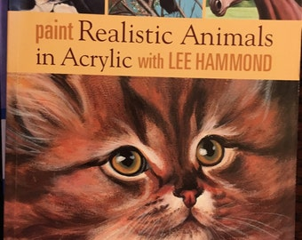 Paint Realistic Animsks in Acrylic with Lee Hammond - NEW