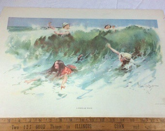 Antique 1890s W Granville Smith  Printed by Truth co,.