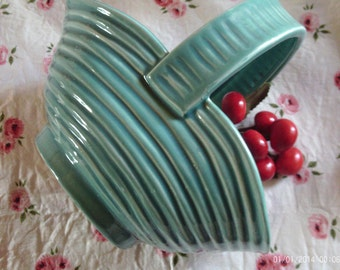 Vintage McCoy Pottery Basket