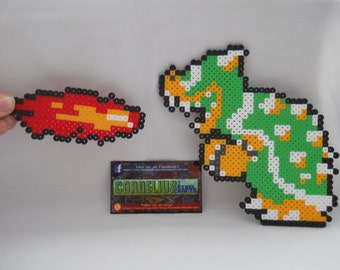 Super Mario Bros - NES Super Mario Bros Bowser Bead Sprite