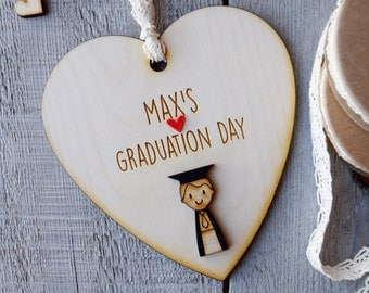 Rustic Boy's Graduation gift - Graduation keepsake - Boy's Graduation