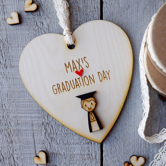 Rustic Boy's Graduation gift - Graduation keepsake - Boy's Graduation