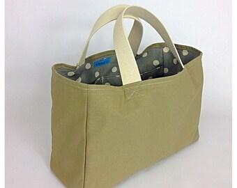Stephanie Canvas Market Tote, Shopping Bag