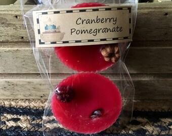 Cranberry Pomegranate Wax Melts
