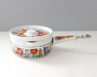 Royal Crown Paradise Ceramic Sauce Pan Casserole Dish