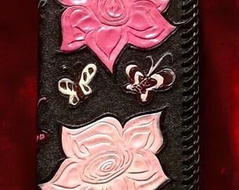Women's hand tooled Wallet