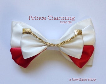 prince charming clip on bow tie