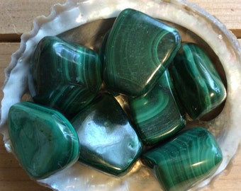 Malachite, Stone of Transformation, Protective Stone,Healing Stone, Spiritual Stone, Activates the Chakras