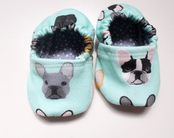 Baby Booties Frenchie