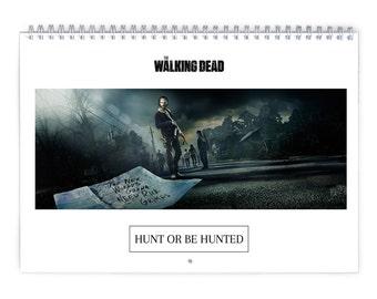 The Walking Dead / Season5 Vol.1 - 2018 Calendar