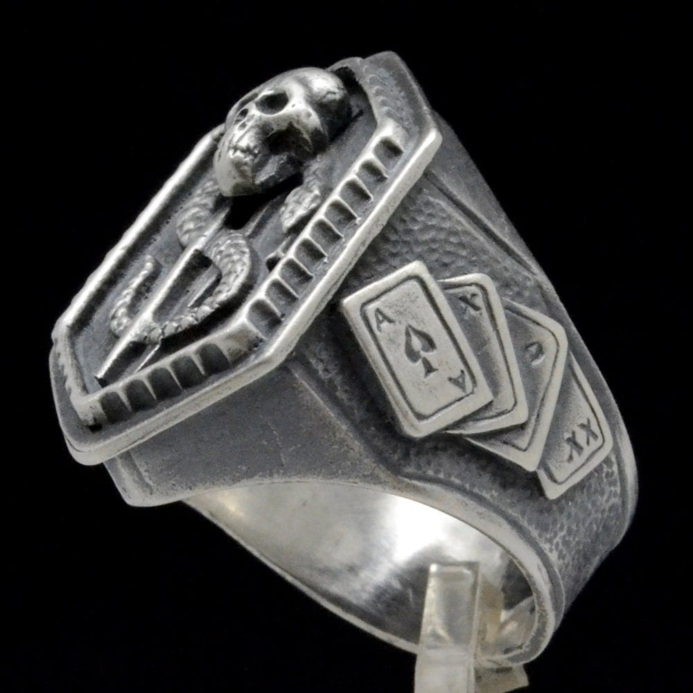 Blackjack men's rings