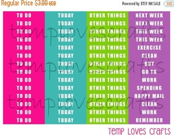 BIRTHDAY SALE Summertime Headers for ECLP or Happy Planner