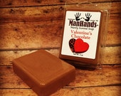 Valentine's Chocolate Scented Soap 3 oz. Bar