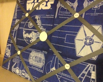 Death Star Blueprint Messenger Board