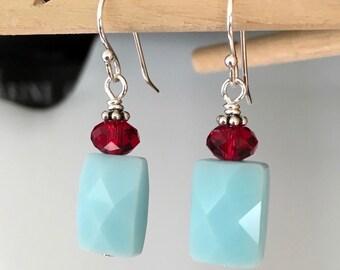 Ruby Pop Earrings