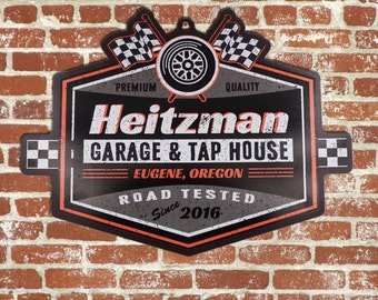 Personalized Beer Sign-Racing Edition BS1002 Custom Bar Sign