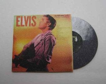 Record Album Elvis (1956) - dollhouse miniature 1:12 scale