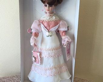 Elise * Collectible Victorian Porcelain Doll