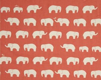 Birch 100% Organic Knit Fabric - Mod Basics - Ellie Fam - Coral