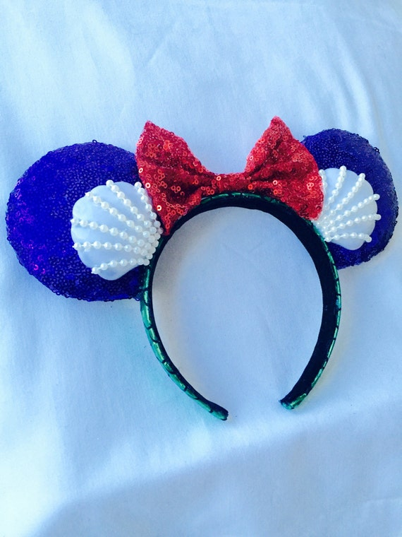 Under the Sea Minnie Mouse Headband