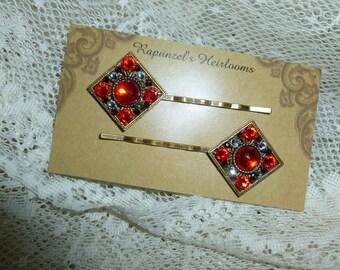 vintage inspired hairpin set