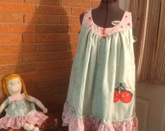 Finished Fluffy Nightgown sets for Girls 16