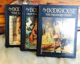 Set of Three 1920's My BookHouse Books